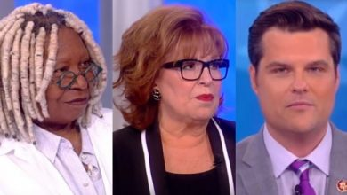 Photo of Watch: Matt Gaetz Goes On 'The View' Absolutely Destroys Crazy Leftist Ladies