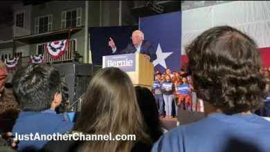 Photo of MUST SEE! Texas Lady Asks Bernie if He's Going to Give Up His Private Jets