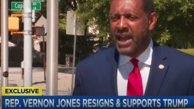 """Photo of Black Democrat Rep Who Endorsed Trump Resigns — Leaves Brutal Message, """"Black Americans Are Waking Up. An Uprising Is Near."""""""