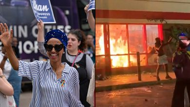Photo of Rep Ilhan Omar On BLM Riots In Her District: 'Our Anger is Just. Our Anger is Warranted'