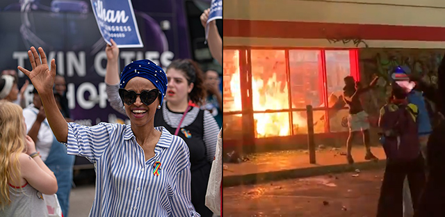 Rep Ilhan Omar On BLM Riots In Her District: 'Our Anger is Just. Our Anger is Warranted'