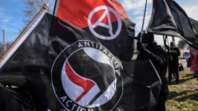 Photo of UN Shares Antifa Flag – Tells US Antifa Has Right To 'Freedom Of Expression', 'Peaceful Assembly'