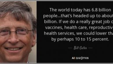 Photo of Deranged Bill Gates Accuses Those Who Refuse To Take His Vaccines As Those That Are Endangering The Lives Of Others – Did He Forget That He Is The One That Wants To Depopulate The World? His Wife Now Takes The Stage…