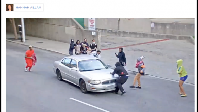 Photo of NPR Busted Framing Self-Defense Getaway From Gun-Toting 'Protesters' As Right-Wing Extremist Attack