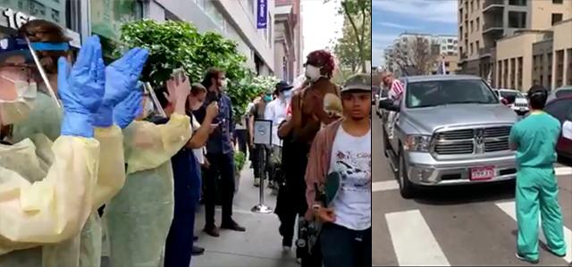 Hospital Staff Filmed Applauding BLM Protesters Amid Coronavirus
