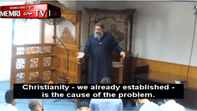 Photo of Miami Imam Dr. Fadi Yousef Kablawi Blames Christianity For Looting In America
