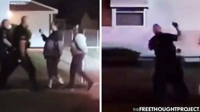 Photo of Another Protest Sparked As Video Shows Cops Beating a Woman for Filming