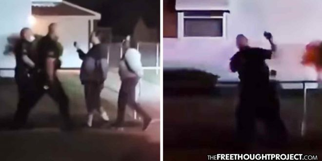 Another Protest Sparked As Video Shows Cops Beating a Woman for Filming
