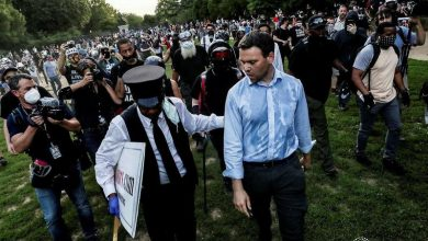 Photo of Conservative Journalist Jack Posobiec Assaulted By DC Antifa