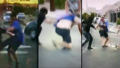 Photo of VIDEO: Rioters Tearing Down Statue Chase Man Down And Attack Him, Man Shoots Assailant in Self-Defense