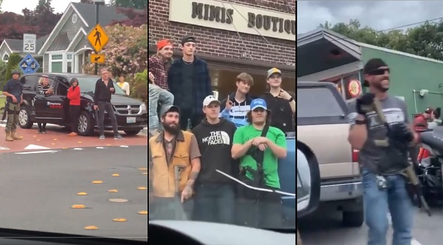 Leftists Panic After Seeing 'White Men With LARGE GUNS' Defending Their Own Neighborhoods