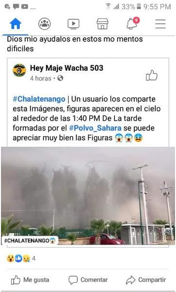 Four Horsemen of the Apocalypse in dust storm over Mexico?
