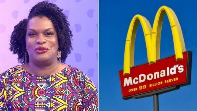 Photo of Burger QUEER, McDonald's pushing black trans propaganda on customers