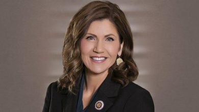 "Photo of A Governor Abiding By The Law: SD Governor Noem "" We Let The Businesses Stay Open, We Let People Go To Work"