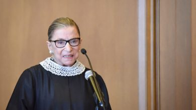 Photo of Ginsburg liver cancer returns, she's probably on her death bed, still won't retire