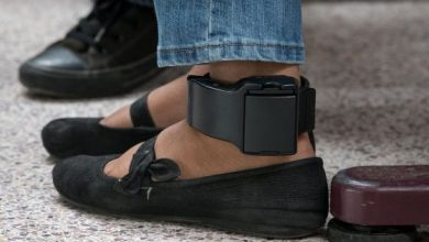 Photo of WELCOME TO THE USSA: WOMAN & HUSBAND FITTED WITH ANKLE MONITORS FOR REFUSING TO SIGN QUARANTINE ORDER