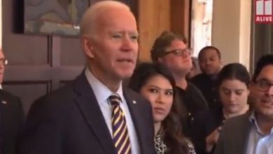 Photo of Watch as Joe Biden Freaks On Reporter Who Asked About His Son's New Child