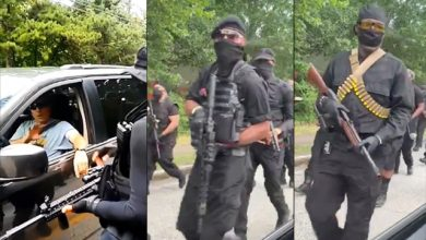 Photo of 'Black Power!' Heavily-Armed Black Militia Marches Through Streets Of Georgia, Demands Reparations
