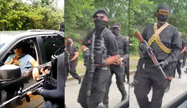 'Black Power!' Heavily-Armed Black Militia Marches Through Streets Of Georgia, Demands Reparations