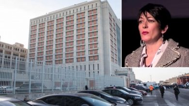 "Photo of Ghislaine Maxwell Is Moved From ""Cell To Cell"" To Prevent Assassins From Killing Her"