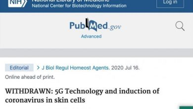 Photo of NIH Website Removes Study That Confirmed 5G Ties To Coronavirus After Reports Pointed To It