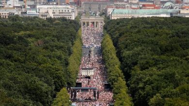 Photo of COVERING UP THE AWAKENING – MASSIVE LOCKDOWN PROTEST IN BERLIN DOWNPLAYED AND DEMONIZED BY MSM