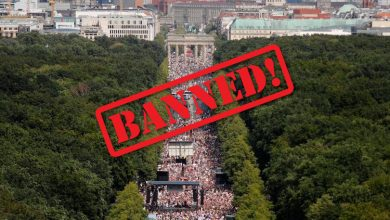 Photo of AFTER HUNDREDS OF THOUSANDS RALLY AGAINST PANDEMIC MEASURES, BERLIN BANS COVID PROTESTS