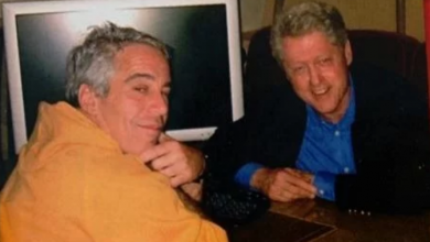 """Photo of FBI reportedly ignored mountains of evidence against pedophile Jeffrey Epstein including allegation Bill Clinton was with """"2 young girls"""" on island"""