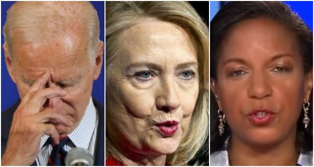 Biden Is Shaken After Judicial Watch Exposes What Susan Rice & Hillary Did