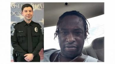 Photo of His Name Is Officer Johnathan Shoop: While Trying to Make Routine Traffic Stop, White Police Officer Murdered by Black Lives Matter Supporter