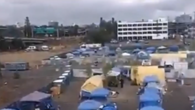 "Photo of Antifa ""war encampment"" found in Portland, housing agitators who emerge from tents each night to unleash CHAOS and violence"
