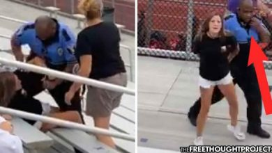 Photo of Ohio: Mother Tasered, Arrested at Son's Game for Not Wearing a Mask Outside, by Cops Not Properly Wearing Masks