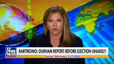 Photo of The Death Of Q-Anon? Bartiromo Reports Durham Report 'Unlikely' to Be Released Before Election