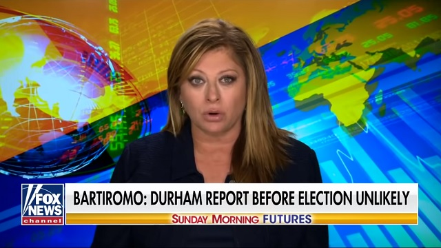 The Death Of Q-Anon? Bartiromo Reports Durham Report 'Unlikely' to Be Released Before Election