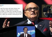 Sacha Baron Cohen's Rudy Giuliani Smear Debunked: Rudy 'Tucked In Shirt After Actress Untucked It,' Wasn't 'Sexual'