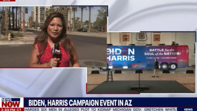 Photo of 'Kinda Boring Out Here' — Not A Single Person Showed Up To Biden Event In Arizona
