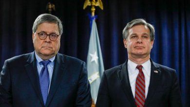 "Photo of ""A Swamp Protection Racket"": Reporter Points Out FBI Director Christopher Wray Profited From Biden/Russia/China Deal & So Did AG William Barr"