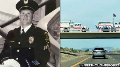 Photo of D.A.R.E. Officer Dies of Overdose While Raiding Evidence Locker and Gets a Parade the Next Day