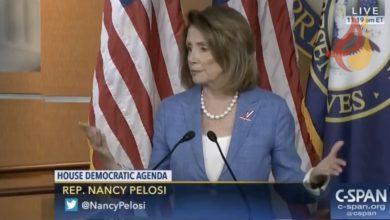 Photo of Nancy Pelosi plotting for Democrat-dominated House of Representatives to select next president