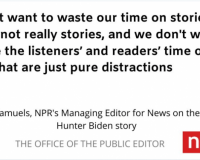 Lawmaker Calls For Defunding NPR Over Refusal To Cover Hunter Biden Laptop News Stories – Where In The Constitution Are We To Be Funding Them In The First Place?