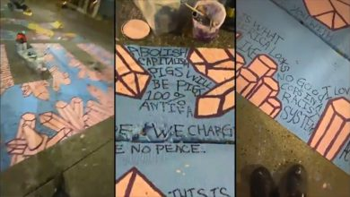 Photo of Seattle Paying Artists to Paint 'F*** Police' And 'All Cops Are Bastards' On Black Lives Matter Mural