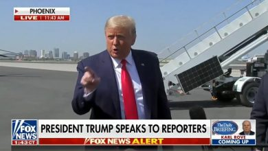 Photo of 'This Is What They Call A Mic Drop': Trump Flattens Reporter Who Asked Why He Called Biden A Criminal