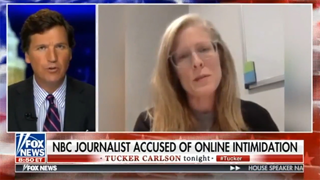 Media Throw A Fit After NBC's Doxing Journo Brandy Zadrozny Gets Exposed By Tucker Carlson Tonight