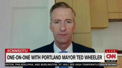Photo of Portland Mayor Asks DOJ To Allow Black Lives Matter Thugs To Assault Cops