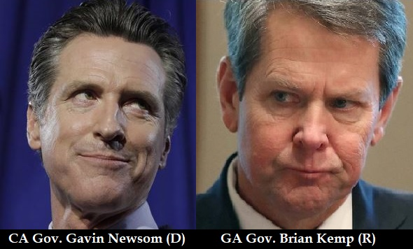 Money laundering: Governors Newsom and Kemp paid over $1B to Chinese company for COVID-19 supplies that never arrived