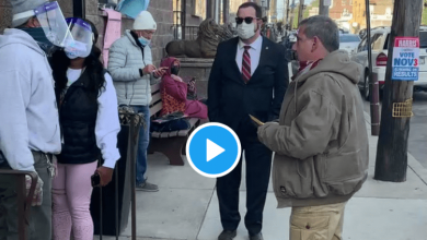 Photo of Democrats Working To Steal Pennsylvania, Wrongfully Preventing Poll Watchers (Watch)
