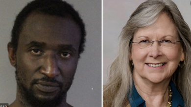 "Photo of Her Name Is Edie Yates Henderson. His Name Is David Henderson: White Couple Violently Murdered in Their Own Home by a Black Male in a ""Random"" Act"