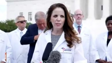 "Photo of Simone Gold, who advocated hydroxychloroquine as a remedy for coronavirus, arrested in connection to Capitol ""riot"""