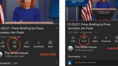 Photo of YOUTUBE CAUGHT RED-HANDED Removing Dislikes From Biden White House Page — Disables Comments After Avalanche Of Anti-Biden Responses