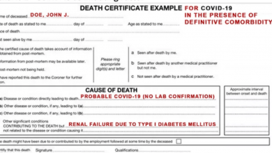 Photo of REPORT: CDC Changed COVID Criteria That Inflated Fatalities 10-Fold